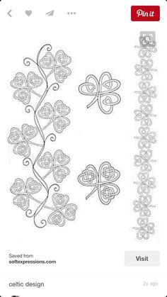 Irish Shamrock Tattoo Designs