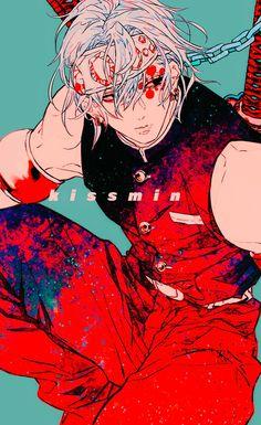 Uzui Tengen - Kimetsu no Yaiba - Image - Zerochan Anime Image Board Anime Oc, Anime Angel, Anime Demon, Anime Character Drawing, Character Art, Character Design, Demon Slayer, Slayer Anime, The Revenant