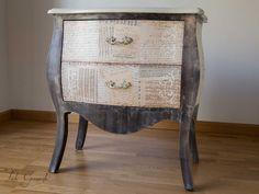 muebles restaurados en esta pgina os muestro trabajos realizados de restauracin de muebles antiguos pintados de forma artesanal pinterest