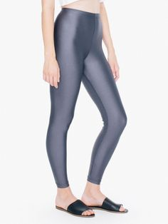Shiny Nylon Tricot Leggings