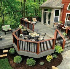 Doğal  ahşap veranda, balkon, teras zeminleri ve korkuluklar ile hizmetinizdeyiz.. www.termowood.net