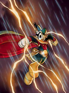 Phantomias, Avenger Duck, Super Duck, Paperinik