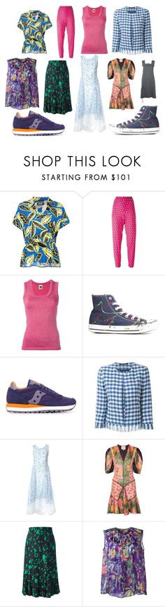 """""""flare"""" by kristen-stewart-2989 ❤ liked on Polyvore featuring Boutique Moschino, P.A.R.O.S.H., M Missoni, Converse, Saucony, Tagliatore, Tory Burch, Roksanda, Jean-Louis Scherrer and Rochas"""
