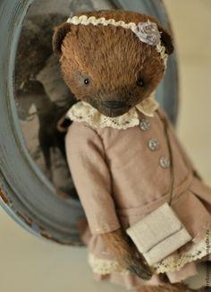 Купить Мишка.........(резерв) - коричневый, подарок, коллекционный мишка, тедди, мишка тедди