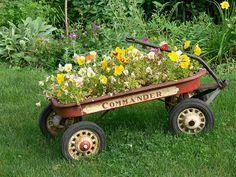 Merveilleux Flower Pot Wagon