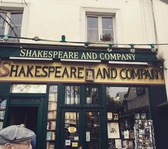 A bookstore in Paris called 'Shakespeare and Company' ... I found out about it through the book Anna and the French Kiss