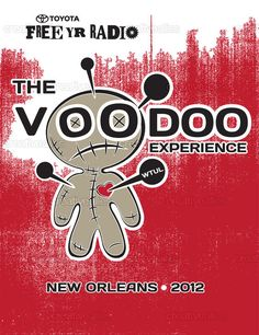 Poster 20x26 in. created by: turtleteeth Design contest: Design a Poster for the Voodoo Experience