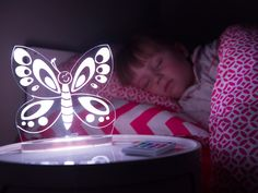 The Aloka Sleepy Light Night Light will help your kids go to sleep and stay asleep feeling safe. It's a great gift for new parents or those toddlers graduating from a crib to a bed.  Find it easily at https://www.bulbhead.com/aloka-sleepy-light.html #giftsforkids #gifts #kidsgifts #nightlight #bedroom #bulbhead #brightideas