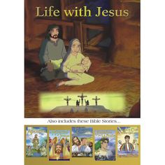 Jesus Animated Bible Stories for Kids Christian Cartoons, Christian Films, Christian Videos, Bible Cartoon, Jesus Cartoon, Cartoon Kids, Story Games For Kids, Bible Stories For Kids, Christmas Stories For Kids