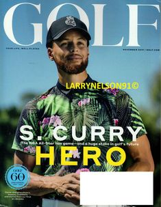 GOLF MAGAZINE NOVEMBER 2019 STEPH CURRY WARRIORS 60TH ANNIVERSARY AARON RODGERS Curry Warriors, Golf Magazine, Aaron Rodgers, Play S, 60th Anniversary, November 2019, Kids Boxing, New Books, All Star