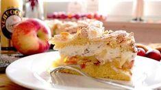 verpoorten.de - neue Eierlikör Torten, Eierlikör Kuchen und Eierlikör Dessert Rezepte mit Äpfeln, Pflaumen oder Birnen: Apfel-Straciatella-Eierlikör-Kuchen! Eierlikör-Rezepte ✓ Neues Teilnehmer-Rezept ✓