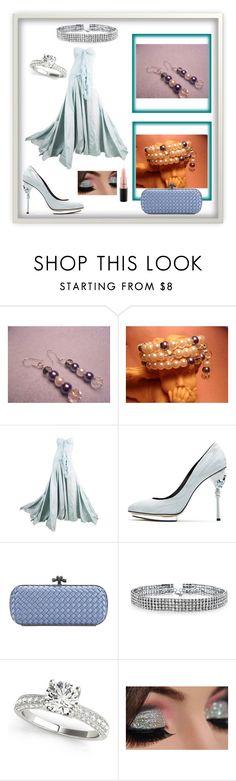 """Crystal Wedding Jewelry"" by bamagirl0320 ❤ liked on Polyvore featuring John Galliano, Oscar de la Renta, Bottega Veneta, Bling Jewelry and MAC Cosmetics"