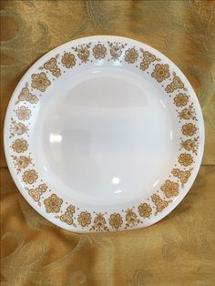 Corelle by Corning Butterfly Gold Dinner Plate Mid Century by WillowBendVintage on Etsy https://www.etsy.com/listing/400298295/corelle-by-corning-butterfly-gold-dinner