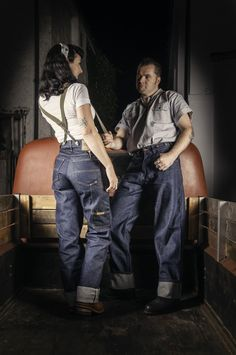 Rugged 14.75 oz. 100% rigid cotton denim. High Waist cut for comfortable movement. Featuring a thick side tool pocket and brass buttons to take support braces. Rivets at stress points and made for lasting wear. Suspender buttons and thick side tool pocket make this a real work jean. A traditional favourite of loggers, truckers, construction …