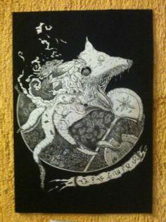 Craftman Lemurian drawing pen and ink. #13pandora