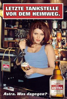 47 astra ideen bier werbung astra