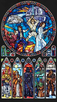 BUY GET 1 FREE! Star Wars Stained Glass 030 Cross Stitch Pattern Counted Cross Stitch Chart, Pdf -->> Link in description to get your wires! Star Wars Love, Star War 3, Star Wars Art, Kino Snacks, Amour Star Wars, Art Tutorial, Nave Star Wars, Images Star Wars, Star Wars Comics