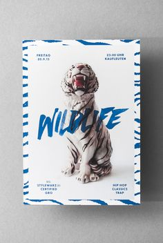 Wildlife by Tobias Faisst, via Behance