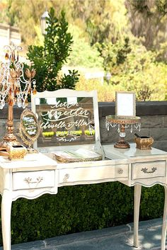 Fabulous Mirror Wedding Ideas ❤ See more: http://www.weddingforward.com/mirror-wedding-ideas/ #wedding #decorations #ideas