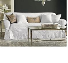 Awesome Sure Fit Matelasse Damask Sofa Cover