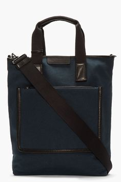 MARC BY MARC JACOBS Slate blue Yes We Can-Vas Shopper