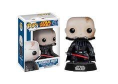 Unmasked Vader Funko Pop! - Star Wars #StarWars #DarthVader