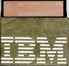 IBM DOS 2.10 PC operating system 5 1/4 inch diskette