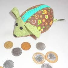 porta moedas ratinho - Pesquisa Google