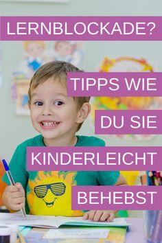 Wir zeigen dir, woran du eine Lernblockade bei deinem Schulkind erkennst und wieder behebst. Mit unseren praktischen Tipps löst du die Schulprobleme, dein Kind kann sich besser konzentrieren und hat wieder mehr Spaß in der Schule. Jetzt ausprobieren! #schule #lernen #lernblockade #lerntricks