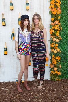 Langley Fox and Angela Lindvall [Photo by Katie Jones]