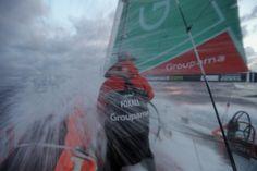 Leg 7 - Day 2 / Groupama in the Volvo Ocean Race / Credit : Yann Riou