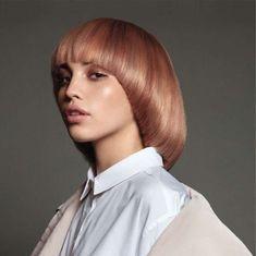 Pageboy Haircut, Mushroom Hair, Page Boy, Red Hair, Bangs, Short Hair Styles, Hair Cuts, Hair Color, Chart