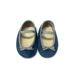 Ref 1081GE Bailarina Bebé de 0 a 12 meses - Shoes Le Petit