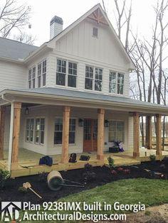 Modern Farmhouse Plan 92381MX built in Georgia - photo 003