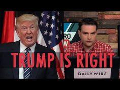Ben Shapiro: Trump Is Right, Terrorist Are Evil Losers - YouTube