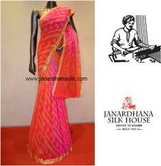 Stylish Zari Buttas Special Pure Georgette Silk Saree Product Code: AC210515 Price: ₹6,650