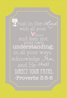 Trust in god <3 Proverbs 3:5-6 perfect and I will! I'll pray for all this.