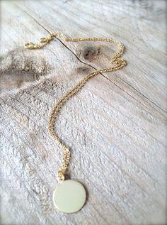 925er Silber vergoldet mit einem kleinen Plättchen... Zu haben bei: http://de.dawanda.com/shop/Miabrina