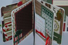 Christmas premade pages premade scrapbook album  5 by ascrapabove, $27.50