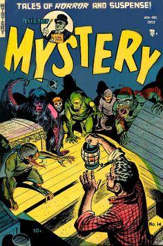 Mr Mystery. Horror comics.