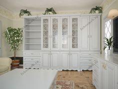 На фото: Классический многофункциональный шкаф