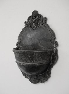 Antique Holy Water Font