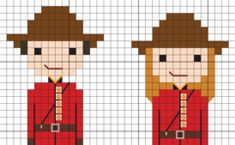 2017 marks the anniversary of Canadian Confederation, so celebrate Stitch People style by creating a portrait for your favorite Canadian(s)! Enter your information to get the free Canadian Sampler PDF! Embroidery Art, Cross Stitch Embroidery, Embroidery Patterns, Cross Stitch Designs, Cross Stitch Patterns, Crochet C2c Pattern, Free Pattern, Happy Birthday Canada, Pixel Drawing