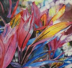 Cordyline Chaos by Jennifer Kimpton