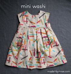 Mini washi dress!