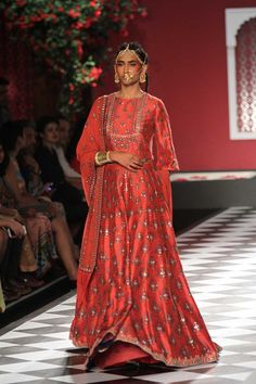 A stunning anarkali gown from the collection epic love by anita dongre #frugal2fab
