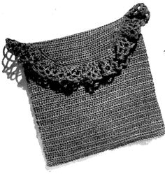 Vintage Crafts and More - Crocheted Vanity Case