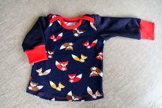 Sweet fox baby shirt || Vera Luna