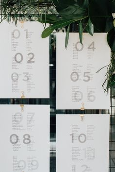 What a fresh take on a wedding seating chart. Date: May 2016 Venue: The Deck at Circa St Kilda Styling by The Details Co. Seating Plan Wedding, Wedding Signage, Seating Plans, Wedding Show, Our Wedding, Wedding Goals, Wedding Things, Wedding Stationary, Wedding Invitations