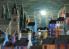 George Callaghan - A Moonlight Stroll